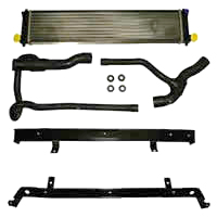 Porsche OEM Center Radiator Kit Porsche 996 C2/C4 98-04