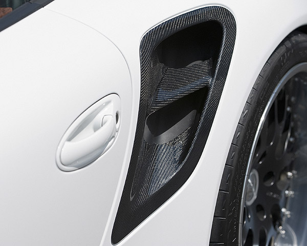 Hamann Air Intake Covers Lateral 997 Turbo 06-09 - 13 097 119