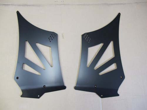Demon Speed Motorsports Wing Uprights Mid Hieght Porsche 997 GT3 07-09 - A-WU7-MH
