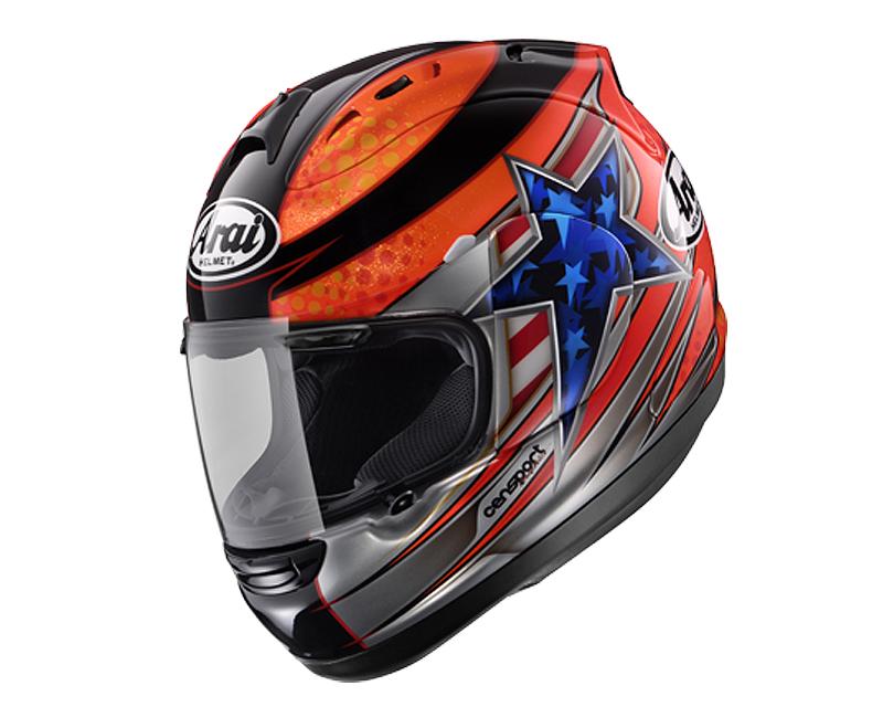 Image of Arai Corsair-V DiSalvo Motorcycle Helmet LG