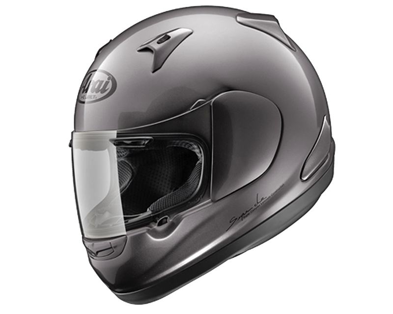 Image of Arai RX-Q Diamond Grey Motorcycle Helmet SM