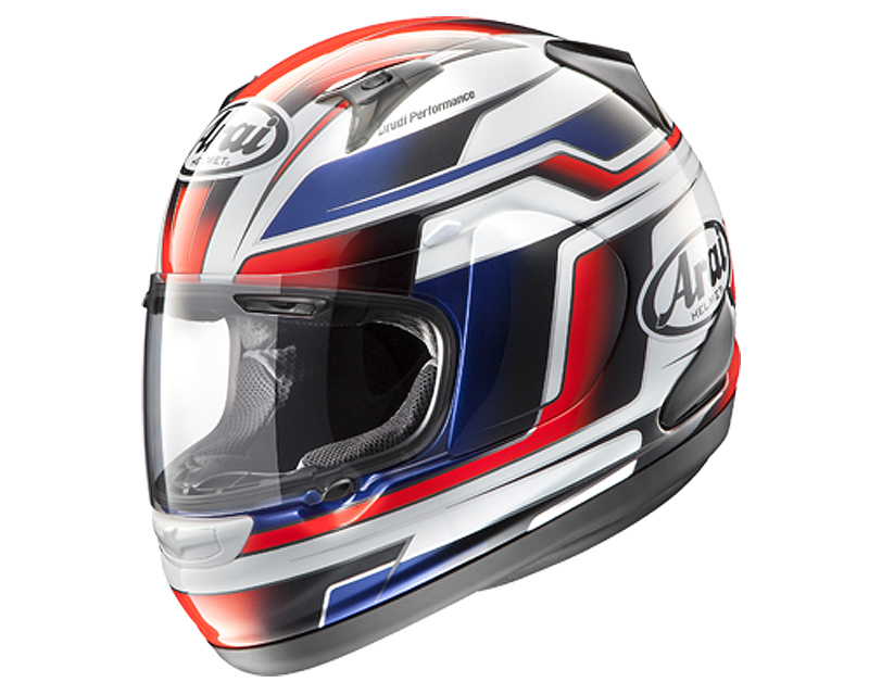 Image of Arai RX-Q Electric Red Motorcycle Helmet 2XL