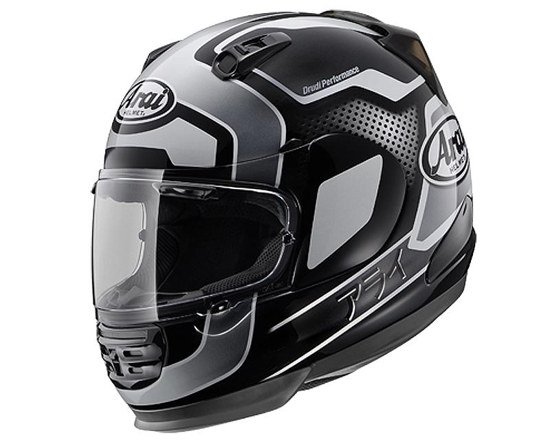 Image of Arai Defiant Character Black Motorcycle Helmet 2XL
