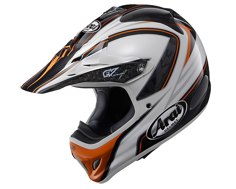 Image of Arai VX-Pro3 Edge Orange Motorcycle Helmet LG