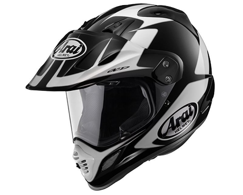 Image of Arai XD-4 Explore Black Motorcycle Helmet LG
