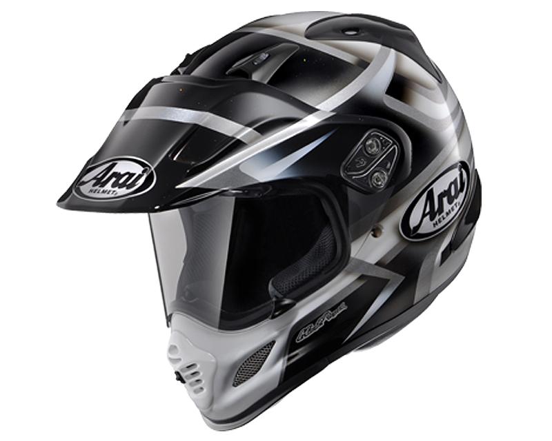 Image of Arai XD-4 Diamante Black Motorcycle Helmet MD