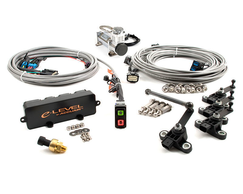 Image of AccuAir Single Compressor Air Management Package With Rocker Switch