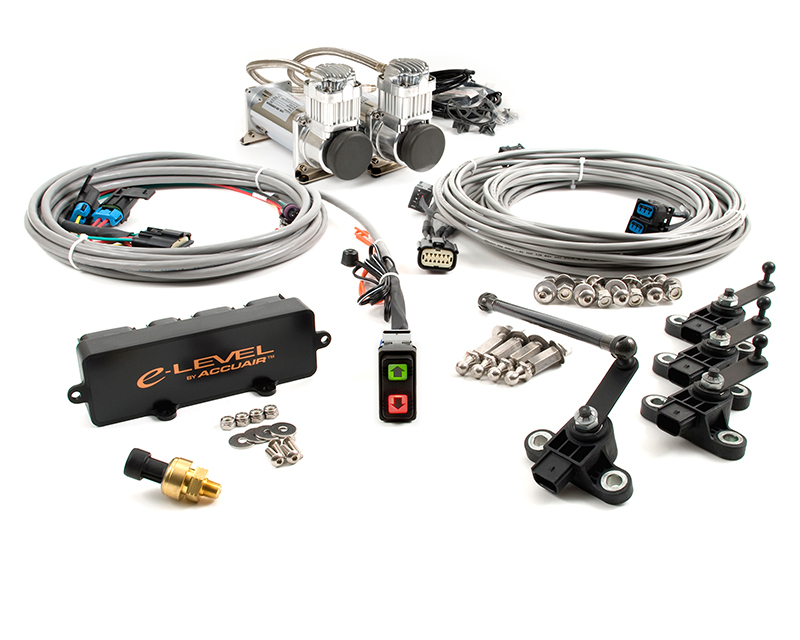 Image of AccuAir Dual Compressor Air Management Package With Rocker Switch