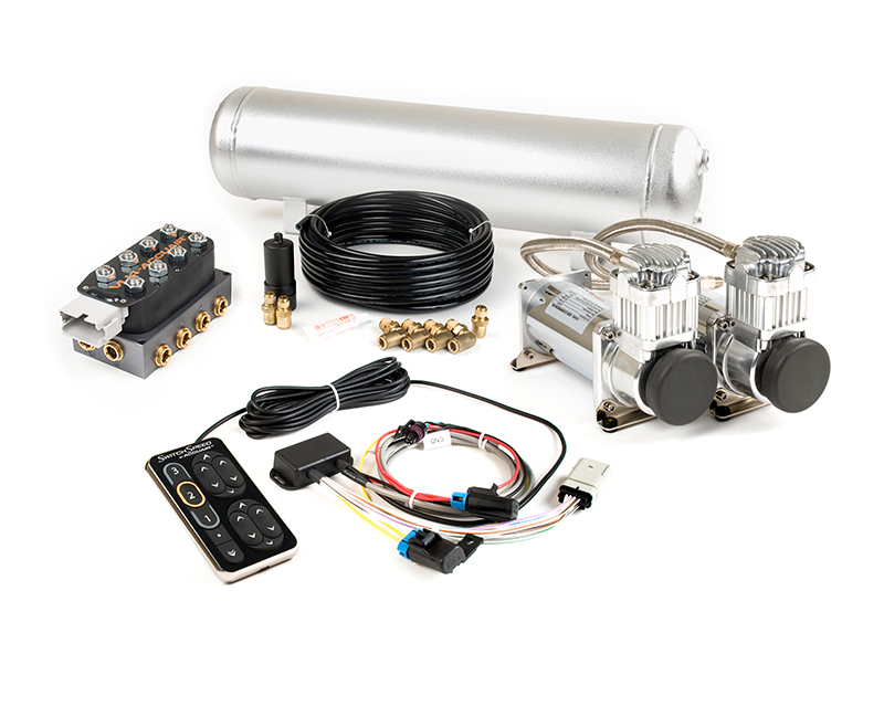 Image of AccuAir SwithSpeed Dual Compressor Air Management Package