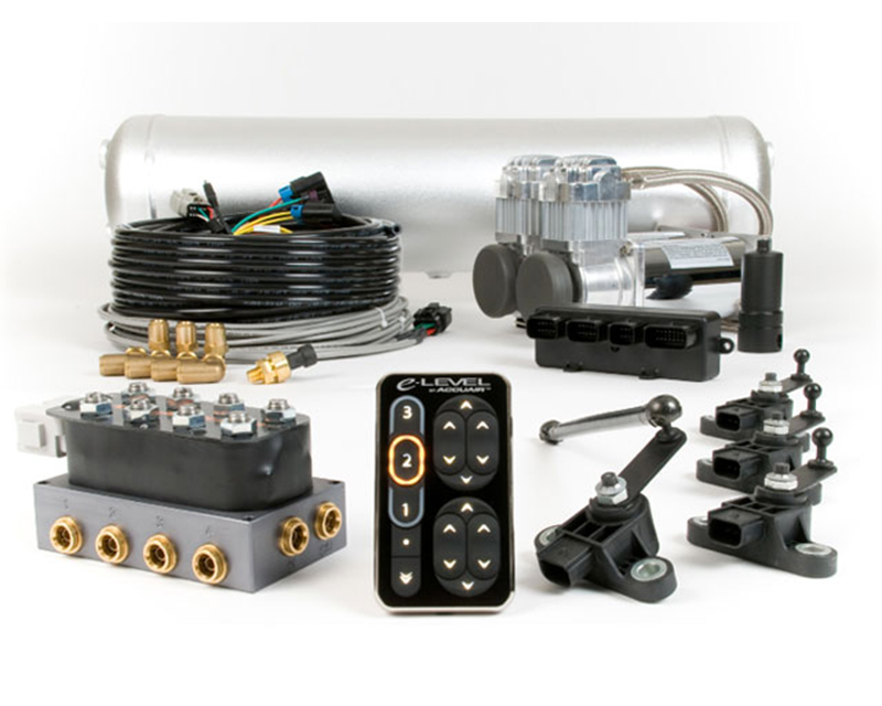 Image of AccuAir Dual Compressor Air Management Package With TouchPad
