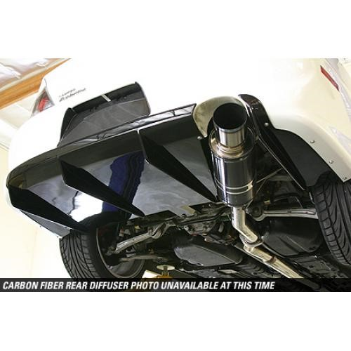 APR Performance Carbon Fiber Rear Diffuser Mitsubishi Evolution VIII / IX 03-07 - AB-485019