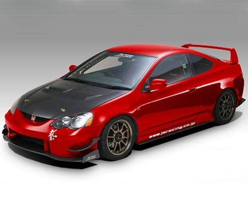 Js Racing Type S CFRP Hood Acura RSX - Acura rsx type s body kit