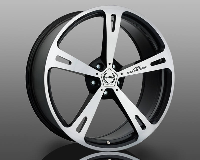 Image of AC Schnitzer Type V Wheel Bi-Color Black 20x10 5x120 ET22