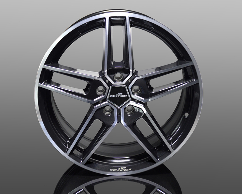 Image of AC Schnitzer Type VIII Forged Wheel Bi-Color Black 19x8.5 5x120 ET43