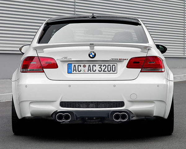Ac Schnitzer Carbon Rear Diffuser With Clear Coat Bmw M3 Coupe E92