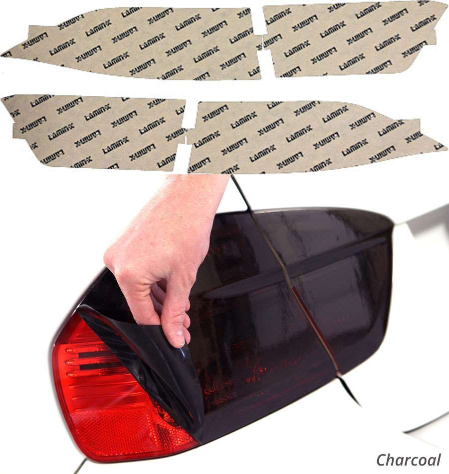 Acura TSX 04-08 Charcoal Tail Light Covers Lamin-X