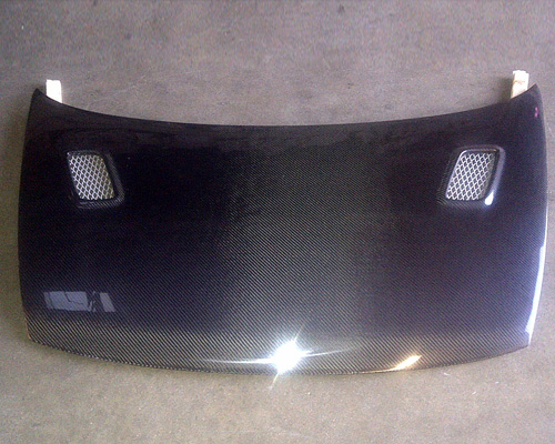 Advan Carbon M-Tech Design Carbon Fiber Hood Honda Civic Coupe 06-11 - BKHC06-AC223HCCM
