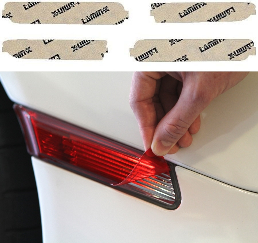 Acura TL 04-08 Red Side Marker Covers Lamin-X