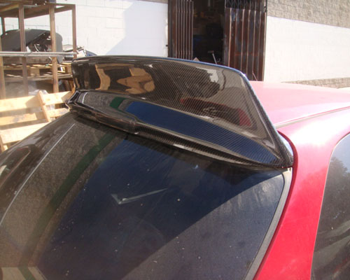 Advan Carbon BEE Yard Special Design Carbon Fiber Rear Roof Spoiler Honda Civic Hatchback 96-00 - BKHC96-AC617RWRBC