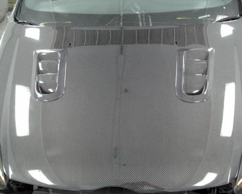 Advan Carbon CWT Design Carbon Fiber Hood Ford Focus 2012+ - BKFF12-AC964HCWT