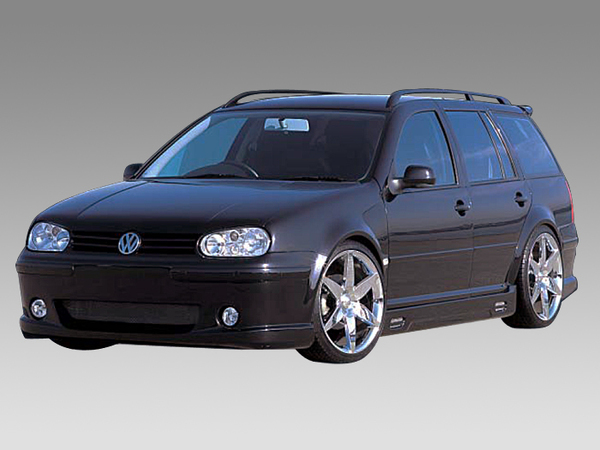Access Design Aero Parts 3Piece Kit Bumper type 01 Volkswagen Golf Wagon MK4 98-04