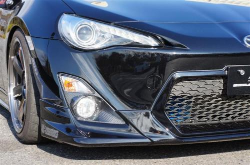 Image of Auto Craft Front Blinker Cover 01 Type B - Carbon Toyota GT86 Scion FRS 13