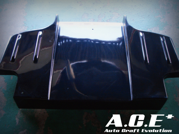Auto Craft Rear Under   Diffuser 03 Type B - Carbon Mazda RX-7 FD3S 93-02 - ACT40121342B03