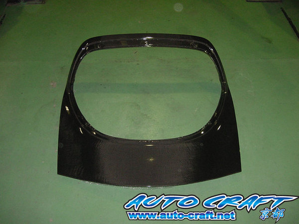 Auto Craft Trunk | Tail Gate 01 - Carbon Mazda RX-7 FD3S 93-02 - ACT40121350001