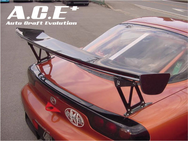 Auto Craft GT-Wing 03 Type A Mazda RX-7 FD3S 93-02 - ACT40121422A03