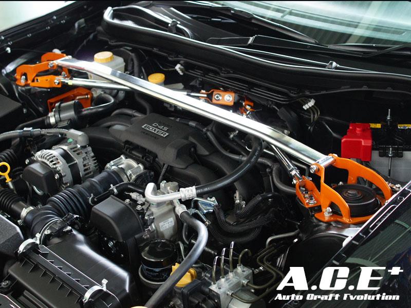 Auto Craft Front Tower Bar 01 Subaru BRZ 13+ - ACT60418210001