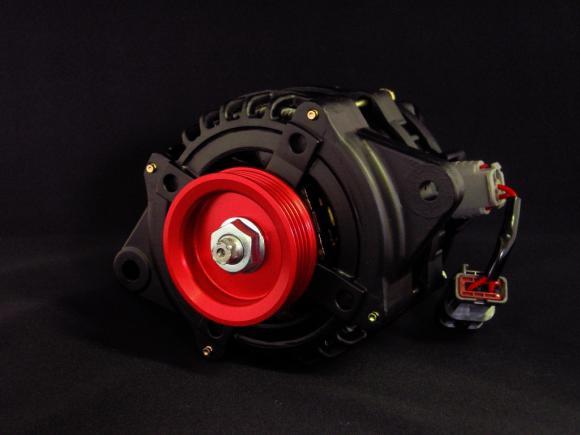 Image of Black Alternator 01 130A Nissan 300ZX 89-96