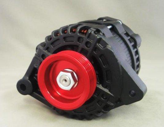 Image of Black Alternator 01 130A Nissan 240SX S14 95-98