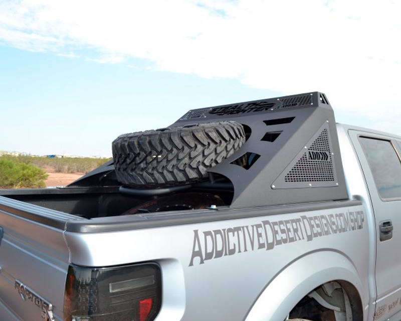 Image of Addictive Desert Designs Chase Rack Stealth Fighter Style For 50inch LED Bar Ford F-150 09-14