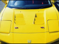 Image of ADVANCE Bonnet 01 FRP Acura NSX 91-01