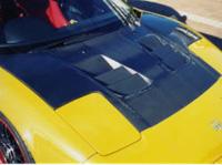 Image of ADVANCE Bonnet 01 Type B - Carbon - Acura NSX 91-01