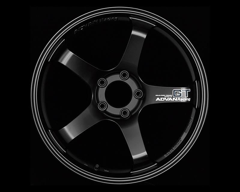 Advan GT Wheel 18x12 5x114.3 +27mm Semi Gloss Black - YAQ8O27ESB