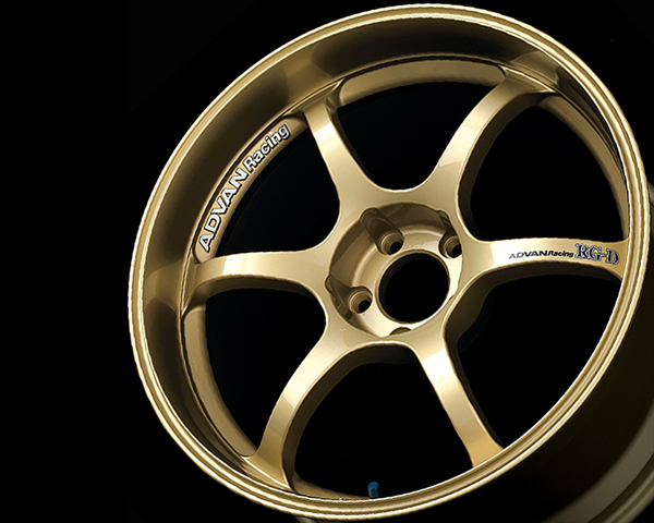 Advan RG-D Wheel 18x9 5x114.3 +45mm Gold - YAL8I45EZ
