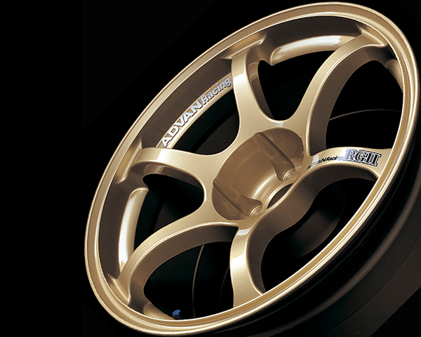 Advan RGII Wheel 18x8.5  5x100 +48mm Gold - YAG8H48DZ