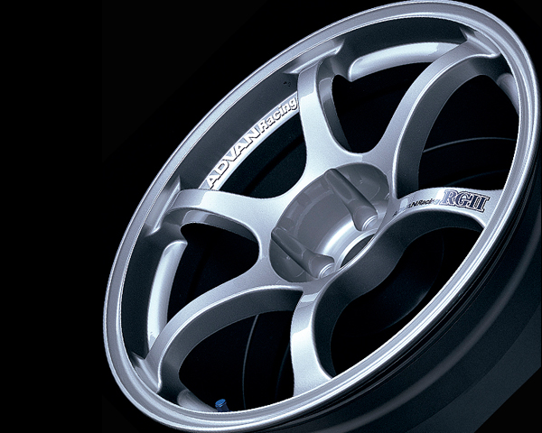 Advan RGII Wheel 16x8  4x100 +38mm Silver - YAG6G38AS