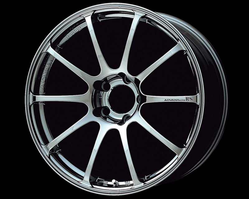 Advan RS Wheel 17x9  5x114.3 +22mm Bright Chrome