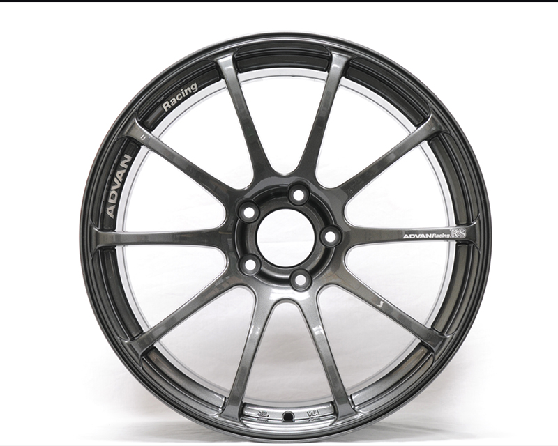 Advan RS Wheel 18x8.5  5x130 +52mm Hyper Silver