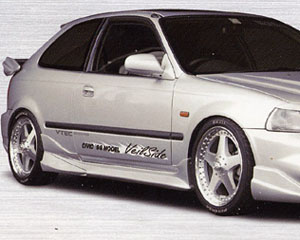 Veilside FRP EC-I Model Side Skirts Honda Civic Hatchback & Coupe 96-00 - AE039-02