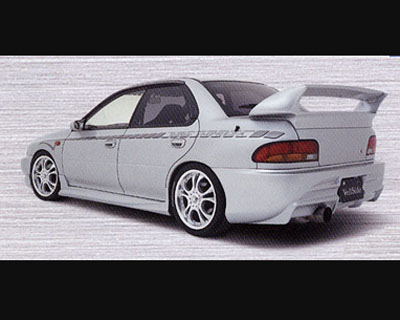 VeilSide 1993-2001 Subaru Impreza GC8 C-I Model Rear Wing (FRP) - AE059-04