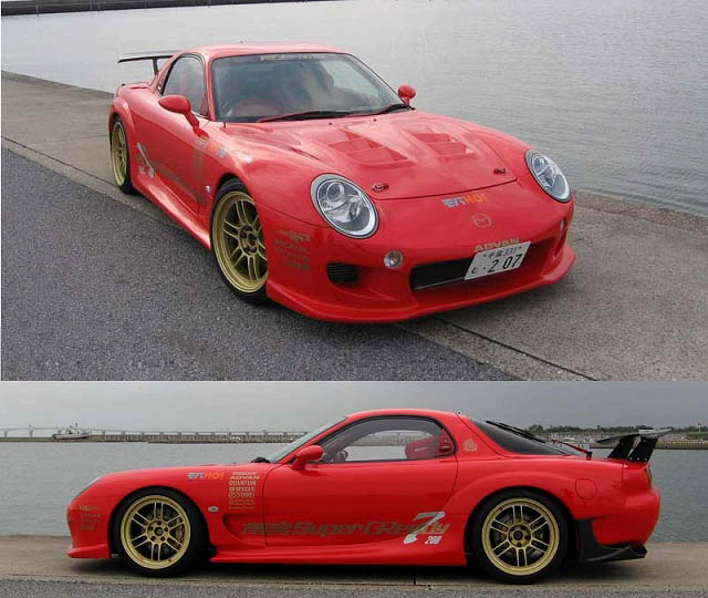 RE Amemiya Super Greddy Complete Body Kit 04 Mazda RX-7 FD3S 93-02