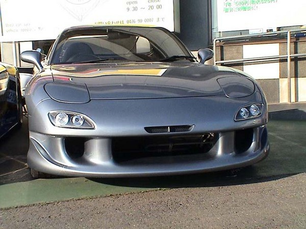 RE Amemiya AD Facer N1 02 Model Front Bumper Mazda RX-7 FD3S 93-02 - REA-D0-022030-178