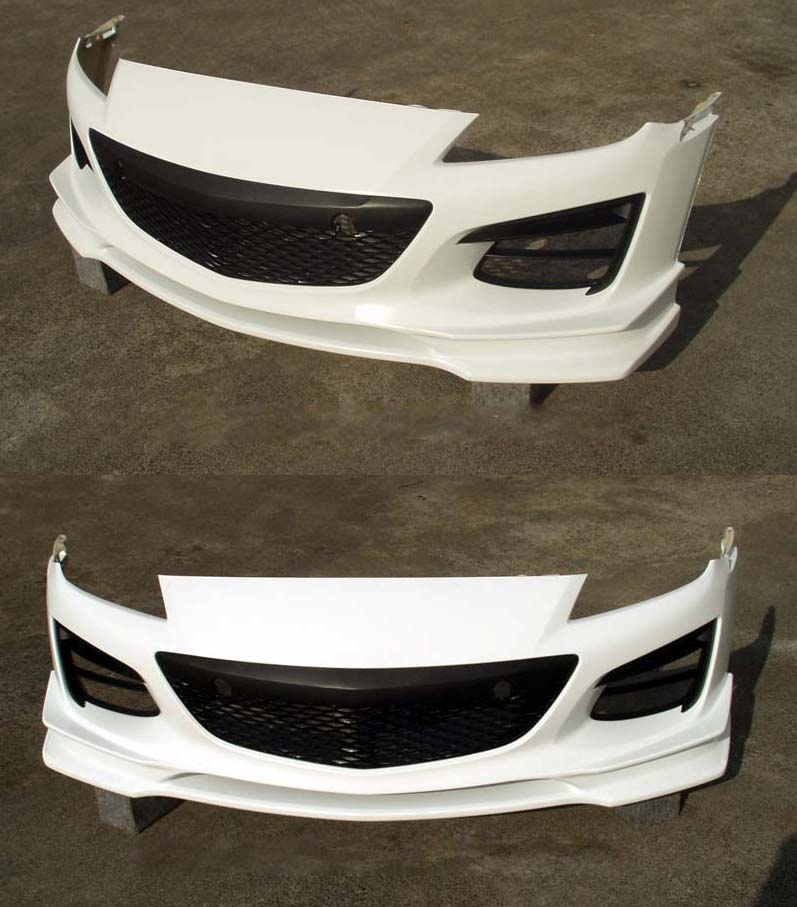 Image of RE Amemiya AD Eight Facer EVO Front Bumper Mazda RX-8 03-11