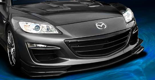 RE Amemiya Carbon After RS Front Skirt Mazda RX-8 03-11 - REA-D0-088030-044