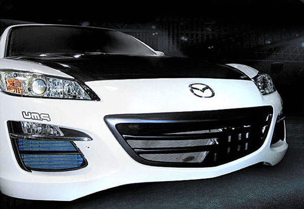 Re Amemiya Frp After Front Grill Mazda Rx 8 03 11 Aea41411152a01