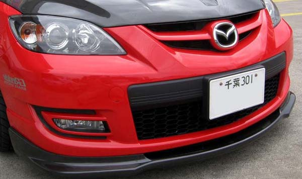 2011 mazdaspeed 3 front lip