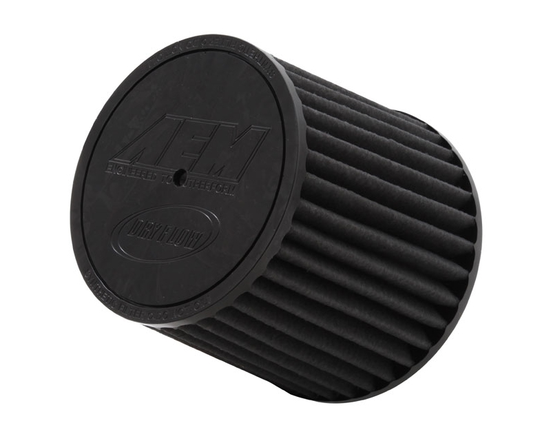 Image of AEM DryFlow Air Filter 2.5inch X 5inch With Hole Universal